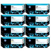 HP 772PBK-Y Full Set Original Inkjet Printer Cartridges