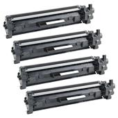 999inks Compatible Quad Pack HP 30A Black Laser Toner Cartridges