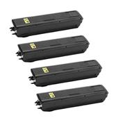 Compatible Quad Pack Kyocera TK-4105 Black Laser Toner Cartridges