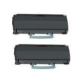 999inks Compatible Twin Pack Lexmark E360H31E Black High Capacity Laser Toner Cartridges