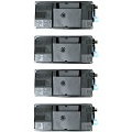 Compatible Quad Pack Kyocera TK-3130 Black Laser Toner Cartridges
