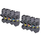 999inks Compatible Multipack Kyocera TK-5230K/Y 2 Full Sets High Capacity Laser Toner Cartridges