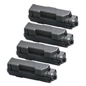 Compatible Quad Pack Kyocera TK-1170 Black Laser Toner Cartridges