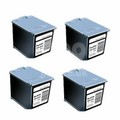 999inks Compatible Quad Pack Samsung M40 Black Inkjet Printer Cartridges