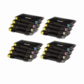 Compatible Multipack Samsung CLP-510 4 Full Sets High Capacity Laser Toner Cartridges