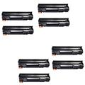 Compatible Eight Pack HP 83X Black Laser Toner Cartridges