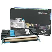 Lexmark C5220CS Cyan Original Return Program Toner Cartridge