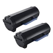 999inks Compatible Twin Pack Dell 593-11171 Black Extra High Capacity Laser Toner Cartridges