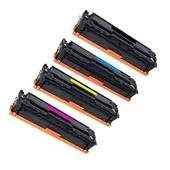 999inks Compatible Multipack HP 128A 1 Full Set Laser Toner Cartridges