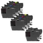 999inks Compatible Multipack Brother LC3217 2 Full Sets + 2 FREE Black Inkjet Printer Cartridges