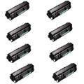 999inks Compatible Eight Pack Dell 593-11056 Black Laser Toner Cartridges