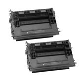 999inks Compatible Twin Pack HP 37Y Black High Capacity Laser Toner Cartridges