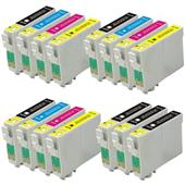 999inks Compatible Multipack Epson T03A1-A4 3 Full Sets + 3 FREE Black Inkjet Printer Cartridges