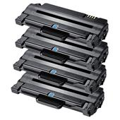 999inks Compatible Quad Pack Samsung ML-TD1052L Black High Capacity Laser Toner Cartridges