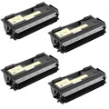 Compatible Quad Pack Brother TN7600 High Capacity Laser Toner Cartridges