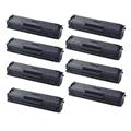 999inks Compatible Eight Pack Samsung MLT-D111S Black Laser Toner Cartridges