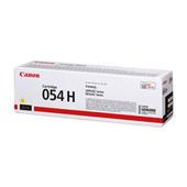Canon 054H (3025C002) Yellow Original High Capacity Toner Cartridge
