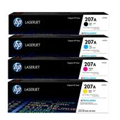 HP 207A Full Set Original Standard Capacity Toner Cartridges
