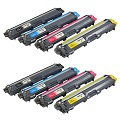 Compatible Multipack Brother TN241 2 Full Sets Laser Toner Cartridges