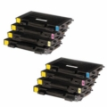 Compatible Multipack Samsung CLP-510 2 Full Sets High Capacity Laser Toner Cartridges