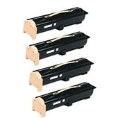 999inks Compatible Quad Pack Xerox 106R01294 Black Laser Toner Cartridges