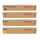 Ricoh TYPE 5502 E (842020/23) Full Set Original Laser Toner Cartridges