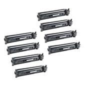 Compatible Eight Pack HP 30X Black High Capacity Laser Toner Cartridges