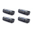 Compatible Quad Pack HP 12A Laser Toner Cartridges