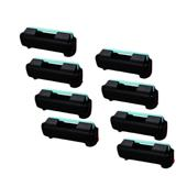 999inks Compatible Eight Pack Samsung MLT-D309L Black High Capacity Laser Toner Cartridges