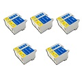 999inks Compatible Multipack Epson T040/T041 5 Full Set Inkjet Printer Cartridges