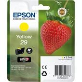 Epson 29 (T29844010) Yellow Original Claria Home Standard Capacity Ink Cartridge (Strawberry)