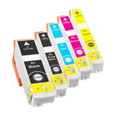 Compatible Multipack Epson T3351 1 Full Set Inkjet Printer Cartridges