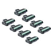 Compatible Eight Pack Ricoh 407246 Black High Capacity Laser Toner Cartridges