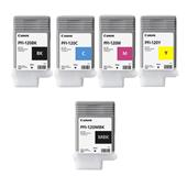 Canon PFI-120BK/MBK Full Set Original Standard Capacity Inkjet Printer Cartridges