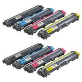 Compatible Multipack Brother TN230 2 Full Set Laser Toner Cartridges