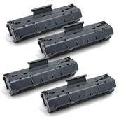 999inks Compatible Quad Pack HP 79A Black Laser Toner Cartridges