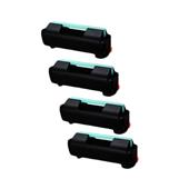 999inks Compatible Quad Pack Samsung MLT-D309L Black High Capacity Laser Toner Cartridges