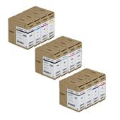 Canon PFI-1100 Full Set Original Inkjet Printer Cartridges