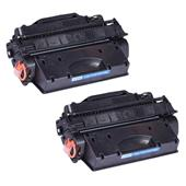 999inks Compatible Twin Pack HP 26X Black Laser Toner Cartridges