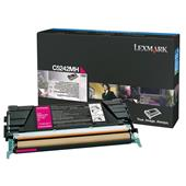 Lexmark C5242MH Magenta Original High Capacity Toner Cartridge