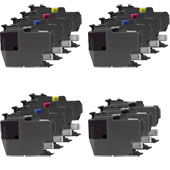 999inks Compatible Multipack Brother LC3217 3 Full Sets + 3 FREE Black Inkjet Printer Cartridges