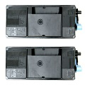 Compatible Twin Pack Kyocera TK-3130 Black Laser Toner Cartridges
