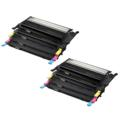 Compatible Multipack Dell 593-10493/96 2 Full Sets Laser Toner Cartridges