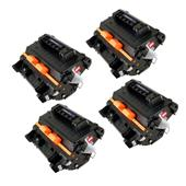 Compatible Quad Pack 81X High Capacity Laser Toner Cartridges