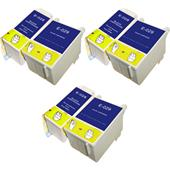 999inks Compatible Multipack Epson T028/T029 3 Full Sets Inkjet Printer Cartridges