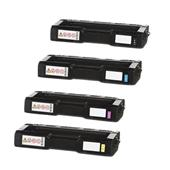 999inks Compatible Multipack Ricoh 407716/19 1 Full Set Laser Toner Cartridges