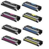 999inks Compatible Multipack Konica Minolta A0V301HB/Y 2 Full Sets High Capacity Laser Toner Cartridges