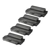 Compatible Quad Pack Samsung SCX-D5530A Black Laser Toner Cartridges