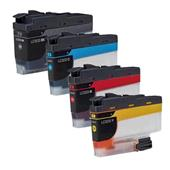 Compatible Multipack Brother LC3233 1 Full Set Inkjet Printer Cartridges