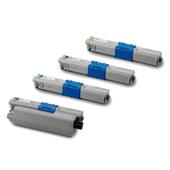 999inks Compatible Multipack OKI 44469804/44469722-24 1 Full Set High Capacity Laser Toner Cartridges